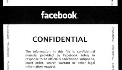 When the cops subpoena your Facebook information, here's what Facebook sends the cops | Online Privacy | Scoop.it