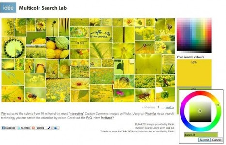 Un moteur de recherche d'images par couleurs, Multicolr Search Lab | Ballajack | Time to Learn | Scoop.it