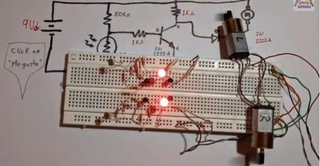 Como hacer un #Robot seguidor de luz | #Robótica Educativa | #DIRCASA - Automatización, Calor y Control | Scoop.it
