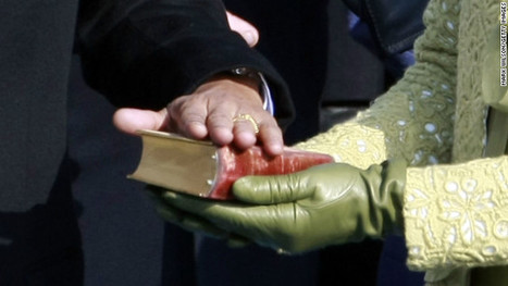 Obama to swear-in on a stack of historic Bibles | It's Show Prep for Radio | Scoop.it