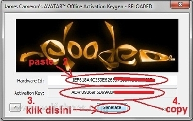 avatar game activation key free download