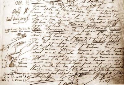 Que trouve-t-on dans les registres d'état civil? | Théo, Zoé, Léo et les autres... | Scoop.it