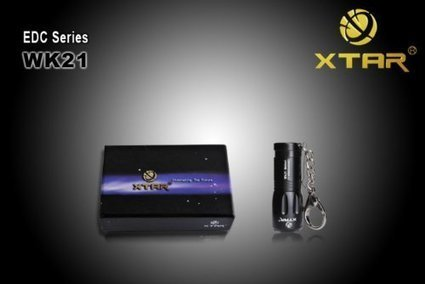 XTAR WK21 CREE XM-L T6 LED Meteor small and exquisite 43g mini convenient  portable keychain LED flashlight ef02cd4884