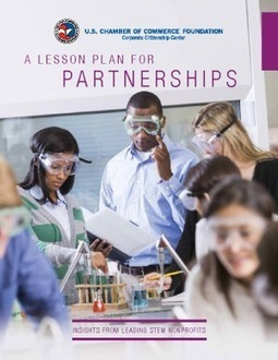 A Lesson Plan for Partnerships: Insights from Leading STEM Nonprofits | IssueLab | Evidence-based Practices in STEM Education | Scoop.it