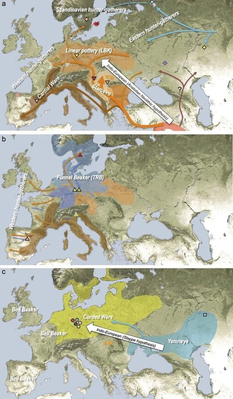 Geographic Spread of the Indo-European Language Family | Geomobile | Scoop.it