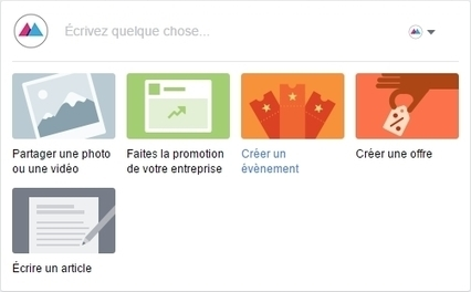 De nouvelles options de publication sur les pages Facebook - Blog du Modérateur | Web information Specialist | Scoop.it