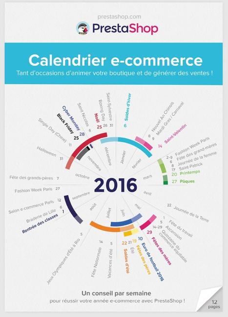Téléchargez gratuitement votre calendrier ecommerce 2016 by PrestaShop : Capitaine Commerce 3.6 | Boite à outils E-marketing | Scoop.it