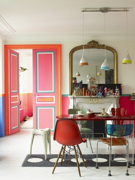 14 Magnifique Ways to Decorate like a French Girl | Designing Interiors | Scoop.it