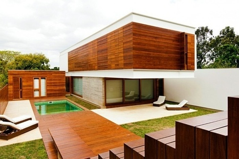 Beautiful Wood Architecture by 4d-Arquitetura , Guaíba, Brasil | Design Love | Scoop.it