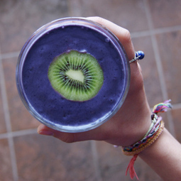 Blueberry Post-Workout Smoothie | The Basic Life | Scoop.it