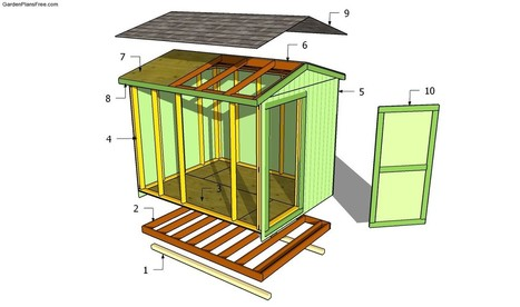Garden Shed Plans Free | Free Garden Plans - How to build garden projects | Shed | Scoop.it