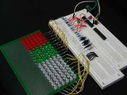 GEEKS ARE KEWL: Arduino-Controlled 18x6 LED Matrix (in progress) | Arduino Focus | Scoop.it