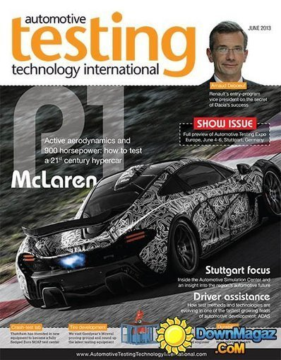 Automotive Testing Technology International - June 2013 » Download magazines free - Magazines Commumity! | Automotive | Scoop.it