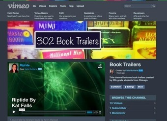 Making Book Trailers on the iPad | iPads at ct | Scoop.it