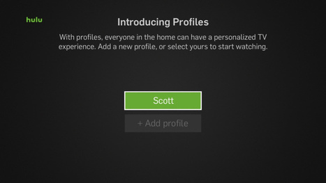 Hulu launches user profiles, each with their own recommendations, Watchlist and history | Big Media (En & Fr) | Scoop.it
