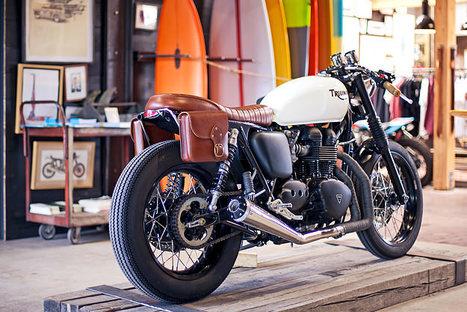 Deus x Triumph Bonneville | Cafe Racers | Scoop.it