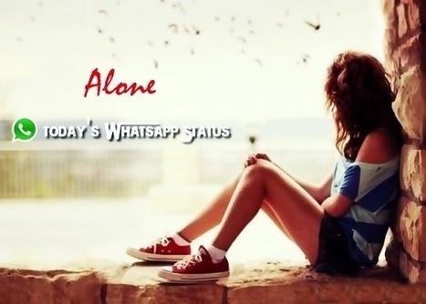 Feeling Alone Status For Whatsapp In Hindi In Whatsapp