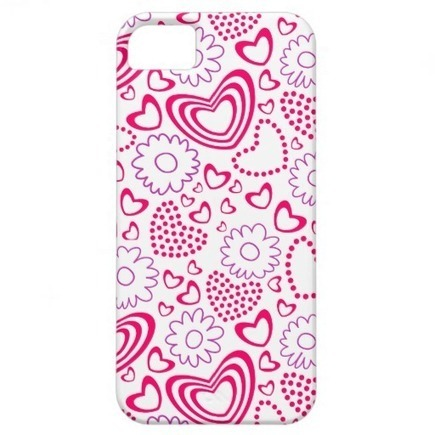 Cute Hearts and flowers iPhone 5 Case iPhone 5 Covers from Zazzle.com | Cute floral iPhone Cases | Scoop.it