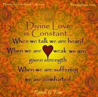 Attirant Divine Love Picture Quote