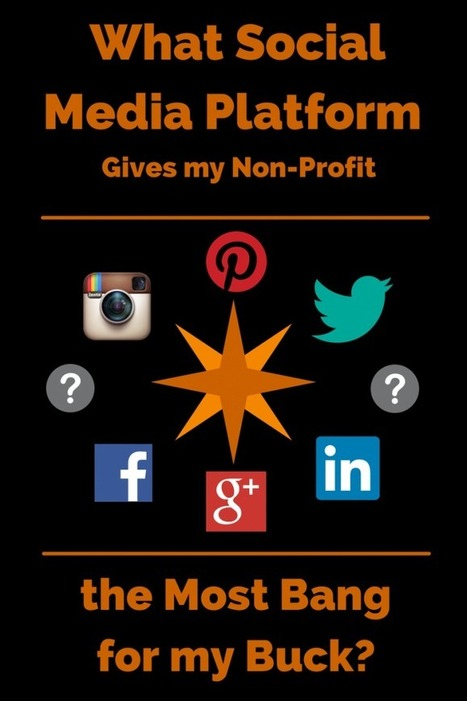 What Social Media Platform Gives My Non-Profit The Most Bang For My Buck? | Social Media for nonprofits | Scoop.it