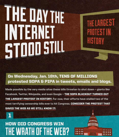 SOPA Defeated: The Day The Internet Stood Still [Infographic] | visual data | Scoop.it