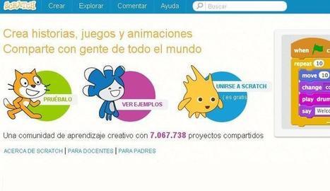 Scratch, para crear videojuegos y animaciones sobre Chromebooks   MECIX   Scoop.it