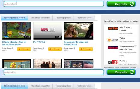 Télécharger et convertir les vidéos en ligne | Time to Learn | Scoop.it