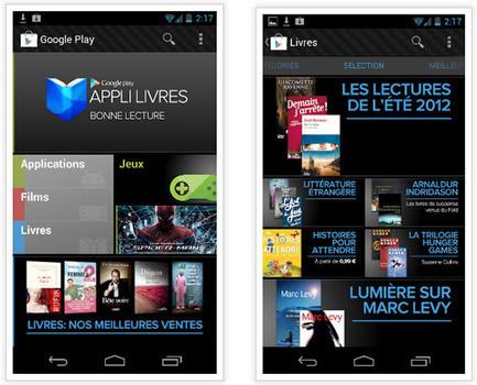 Google Play ouvre sa librairie en ligne, accessible sur smartphone, tablette et PC | BiblioLivre | Scoop.it