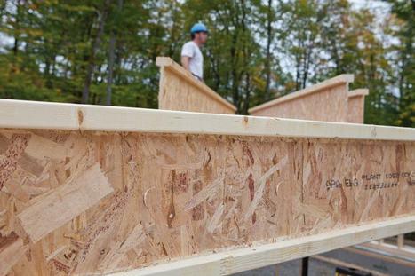 """Poutres en I """"Norjoist""""   Ageka les matériaux pour la construction bois.   Scoop.it"""