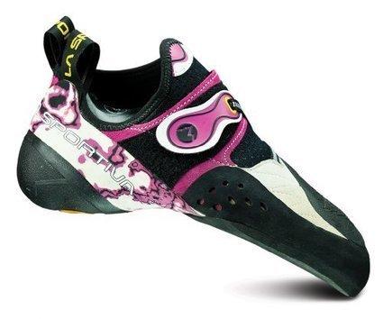 54ab65a1e09cd1 La Sportiva Solution Shoe - Women s White   Pink 35