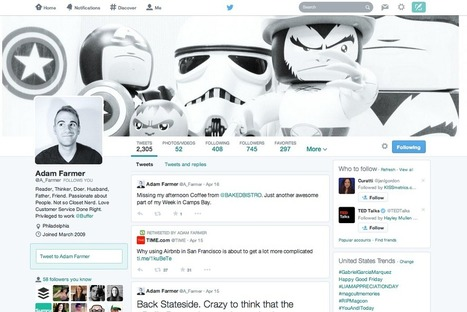 5 Tips to Optimize Your New Twitter Profile | Twitter Stats, Strategies + Tips | Scoop.it