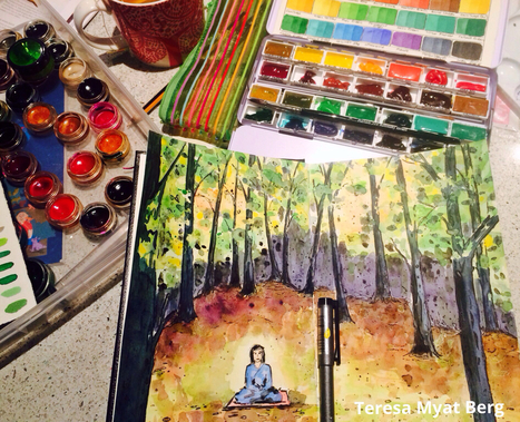 Nature Drawing Ideas for Your Art Journal | Circolo d'Arti | Scoop.it