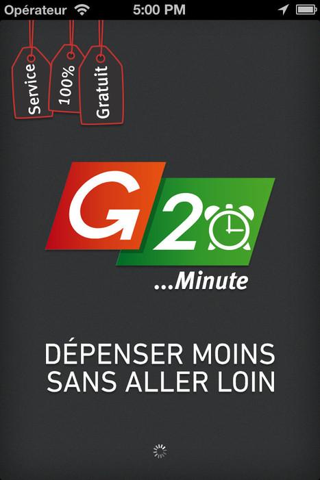 G20 lance « G20 minute », son application mobile « d'emporté magasin »   E-commerce, M-commerce : digital revolution   Scoop.it