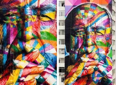 Kobra, el grafitero global que vibra en las calles de Sao Paulo | Siglo 21 (Guatemala) | Kiosque du monde : A la une | Scoop.it