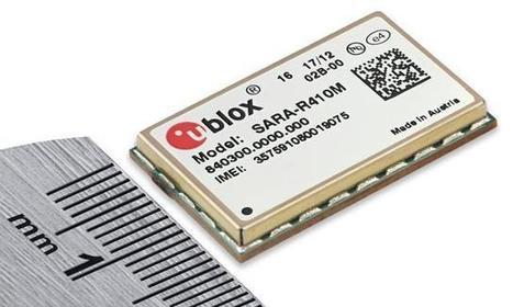 U-blox SARA-R410M-02B Module Supports LTE Cat M