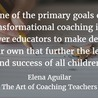 Coaching in Education for learning and leadership