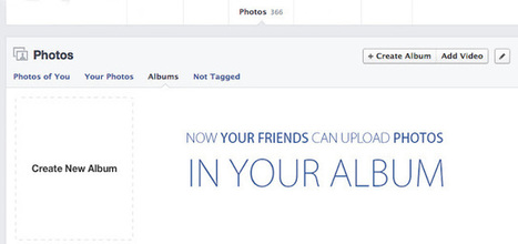 Now shared photo albums in Facebook, update rolling out | Technology | Scoop.it