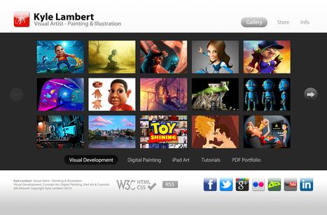 Kyle Lambert - Visual Artist - Painting & Illustration | Concept art, Painting & Illustration | Scoop.it