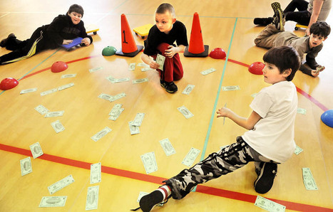 Reading, playing and arithmetic: Schools use physical education to improve academics | The Kennebec Journal, Augusta, ME | Creative Primary Teaching | Scoop.it