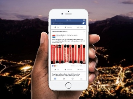 Now Hear This: Facebook Debuts Live Audio | Surviving Social Chaos | Scoop.it