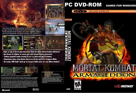 Mortal Kombat Armageddon Download PC Game Free