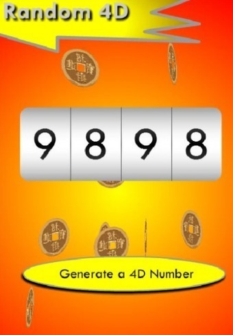How would I get my Toto 4D lucky numbers? | Som