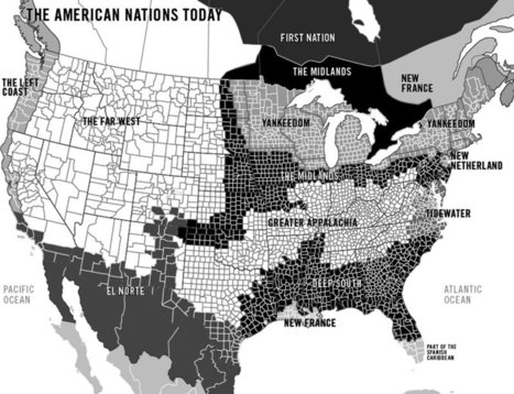 Regional divisions date back centuries | The Portland Press Herald / Maine Sunday Telegram | Southern Geographies | Scoop.it