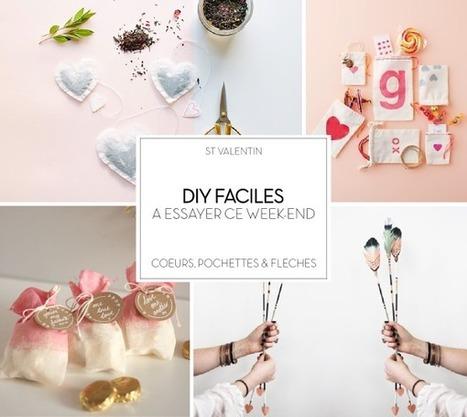 DIY : 4 idées créatives très mignonnes pour la St Valentin | décoration & déco | Scoop.it