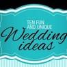Unique Wedding Ideas Infographic