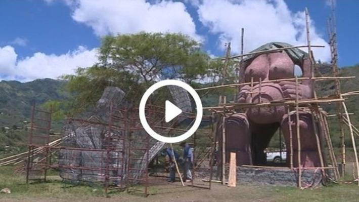 Le plus grand tiki de Polynésie bientôt terminé | Polynésie 1ère | Kiosque du monde : Océanie | Scoop.it