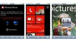 Demo lets Android and iOS owners test drive Windows Phone | All about Apple | Scoop.it