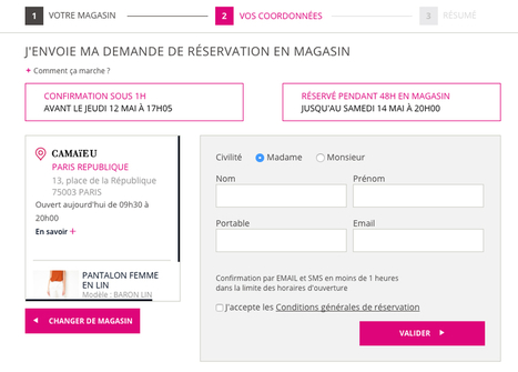 Camaïeu | EvoKe, Accélérateur Web To Store | Digital & eCommerce | Scoop.it