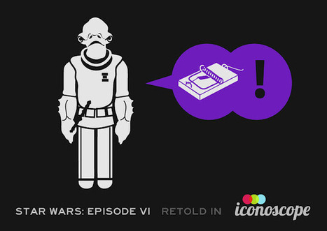 Star Wars Episode VI: Return of the Jedi Retold Using Only Icons | Data Visualization for Social Media | Scoop.it