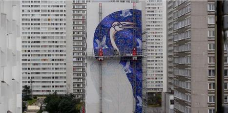 """[Paris 13è] """"Sky's The Limit"""", film VERTIGINEUX sur le graffiti XXL...A voir sur Télérama.fr   photography art   Scoop.it"""